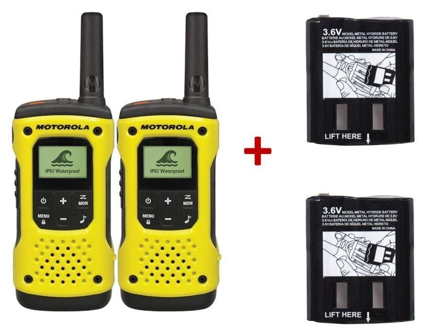 Pack de 2 Motorola T92 + Batteries de rechange Haute Capacité