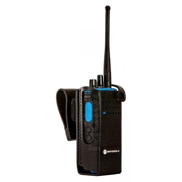 Motorola Etui cuir rigide pour DP4401 DP4801