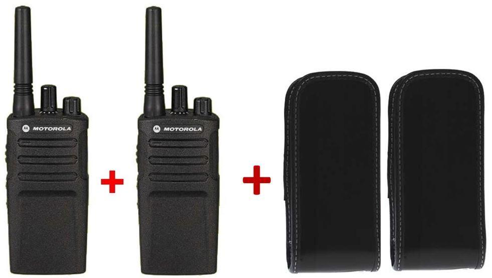 Pack de 2 Motorola XT420 + Housses résistantes