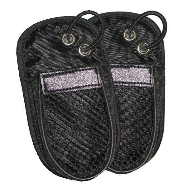 Pack 2 housses en nylon pour talkie-walkie