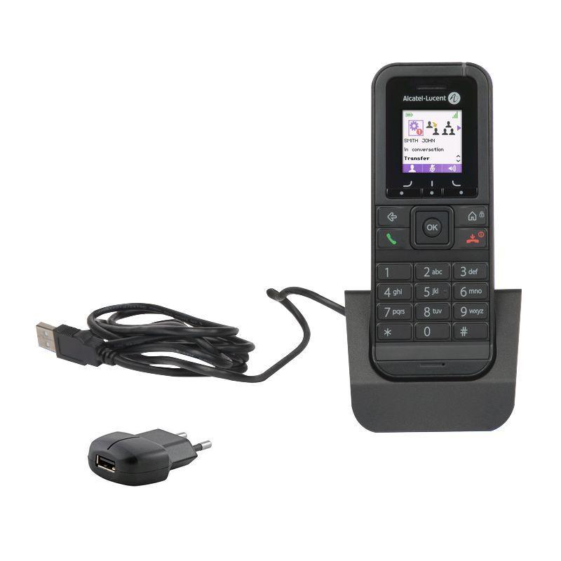 Alcatel 8232S Dect + Pack chargeur et alimentation