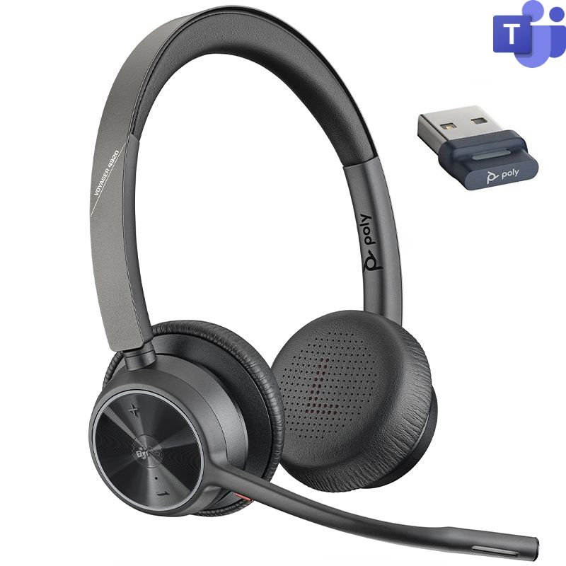 Poly Voyager 4320 USB-A – Version Microsoft Teams