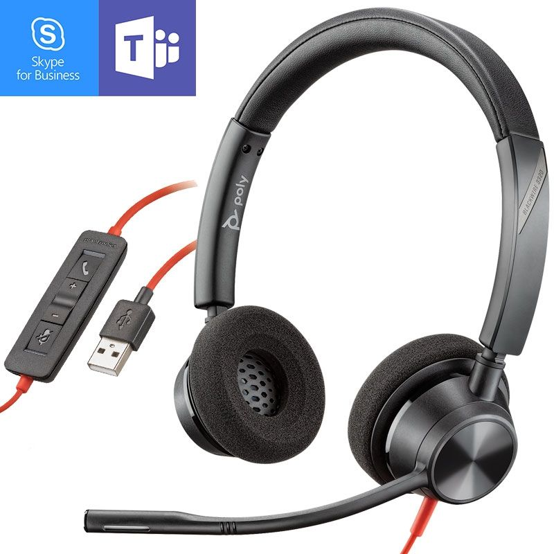 Poly - Plantronics Blackwire 3320 USB-A MS