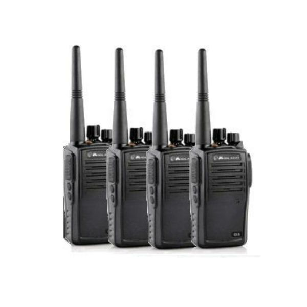 Pack Quatro : 4 talkies Midland G15