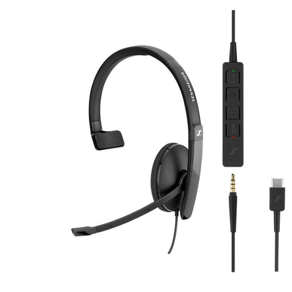 Sennheiser SC135 - USB-C and 3.5mm Jack