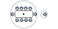 micro omnidirectionnel et portable revolabs flx2