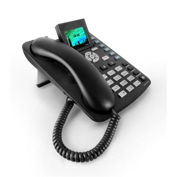 Tecdesk 3600 Telephone De Bureau Carte Sim Tecdesk