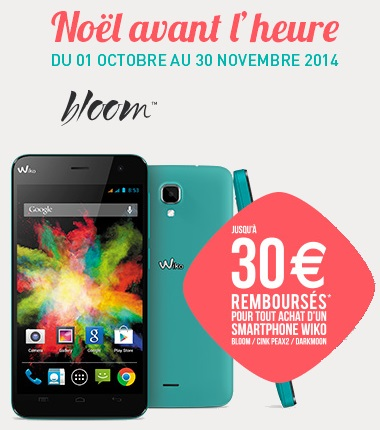wiko bloom t l phone portable pro wiko achat. Black Bedroom Furniture Sets. Home Design Ideas