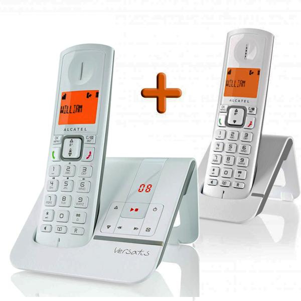 alcatel versatis f230 voice t l phone sans fil r pondeur alcatel achat. Black Bedroom Furniture Sets. Home Design Ideas