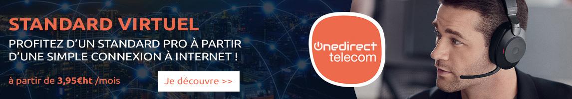 Onedirect télécom standard hébergés