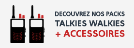 Packs talkies + accessoires