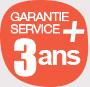 Garantie service plus 3 ans