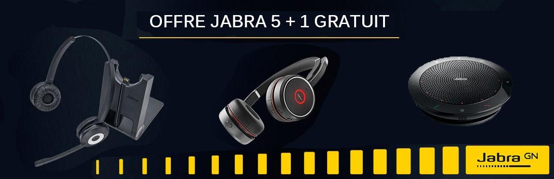 Offre Jabra : 5+1 gratuit