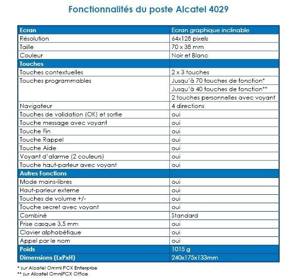 ALCATEL 4029- ONEDIRECT