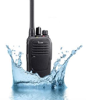 Walkie Talkie VHF sumergible